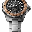 tag-heuer-aquaracer-500m-calibre-5-diving-watch-gold-bezel