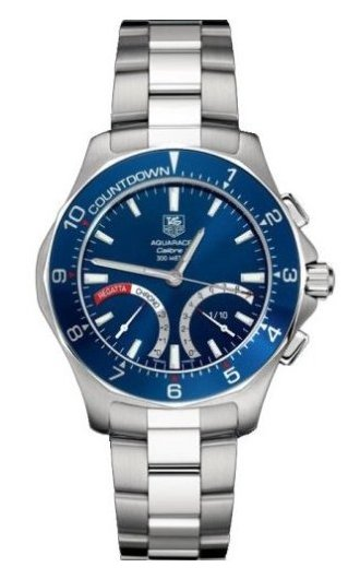 TAG Heuer Aquaracer Calibre S Regatta Watch CAF7110.BA0803
