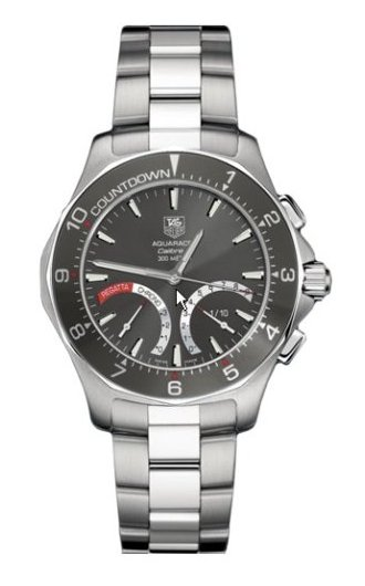 TAG Heuer Aquaracer Calibre S Regatta Watch CAF7111.BA0803