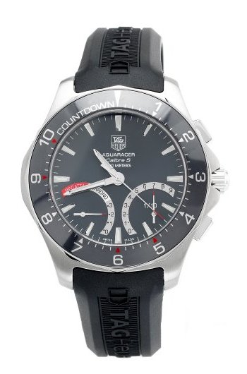 TAG Heuer Aquaracer Calibre S Regatta Watch CAF7111.BA8010