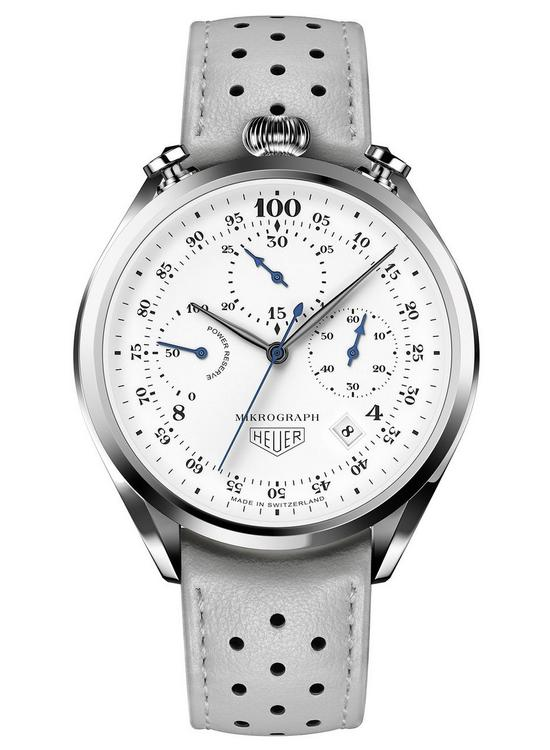 TAG Heuer Carrera Mikrograph Anniversary Edition Watch Front