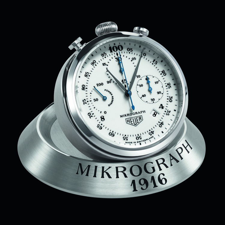 TAG Heuer Carrera Mikrograph Anniversary Edition Watch Table Mount
