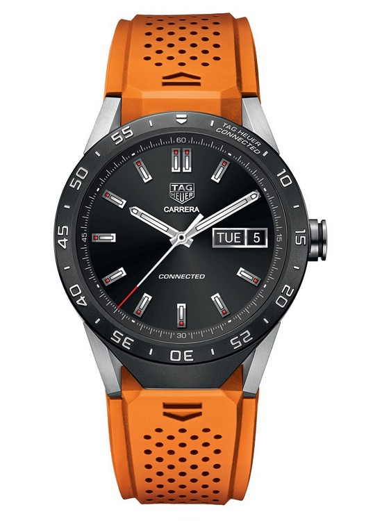 TAG Heuer Connected Watch Orange