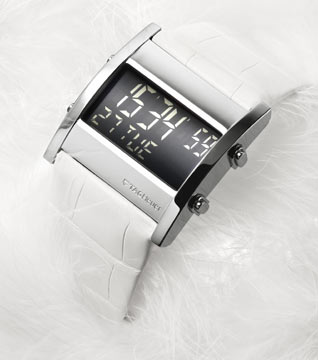 Tag Heuer Microtimer White Ladies Watch