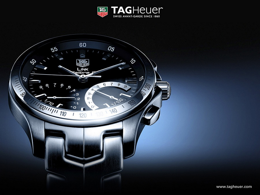 Tag Heuer Link Caliber S Chronograph Watch