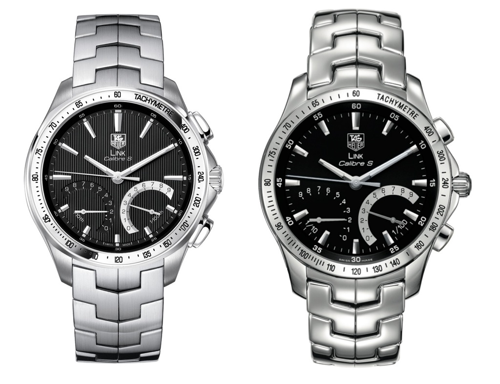 Tag Heuer Link Calibre S Chronograph Watch 2011 and 2010