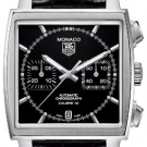 Tag Heuer Monaco Calibre 12 Automatic Chronograph Watch Black