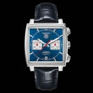 Tag Heuer Monaco Calibre 12 Automatic Chronograph Watch blue