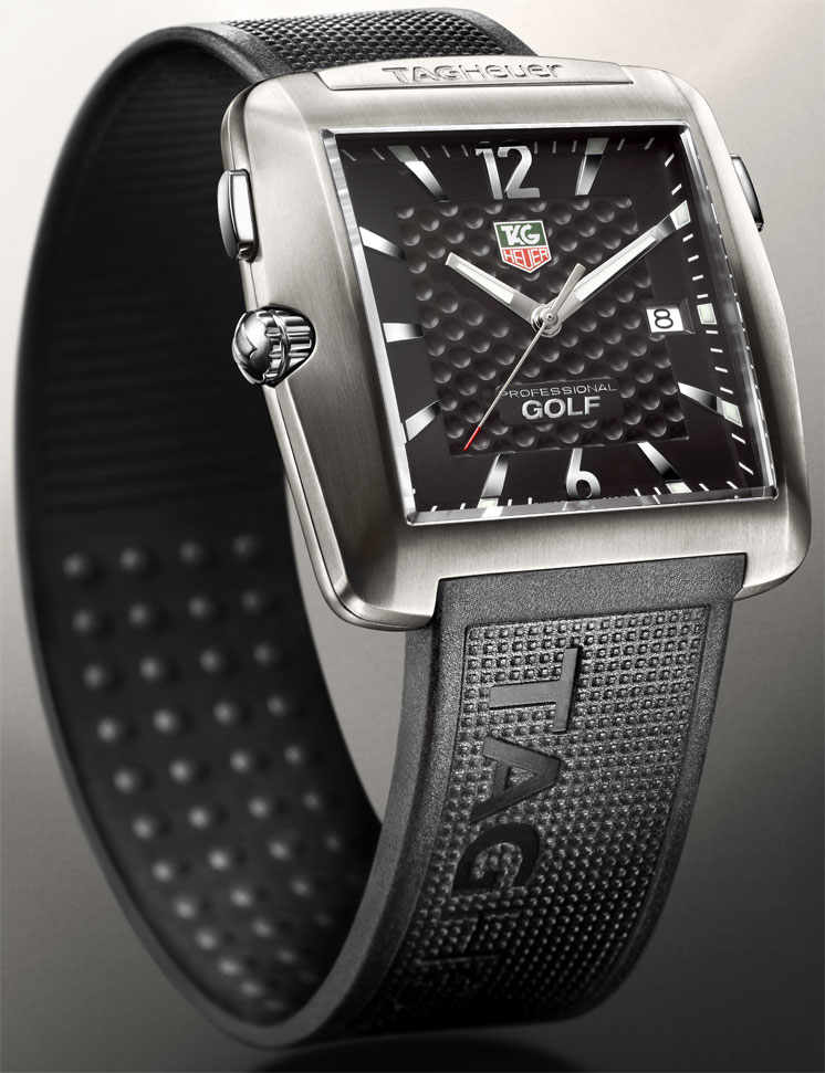 Tiger woods tag heuer golf watch review & pictoral replica.