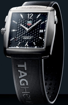 Tag heuer titanium tiger woods golf watch wae1111. Ft6004 brand.