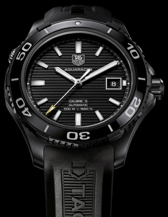 Tag Heuer Redesigned Its Number One Diving Watch – 2012 Aquaracer ... 2bcfabf9b1