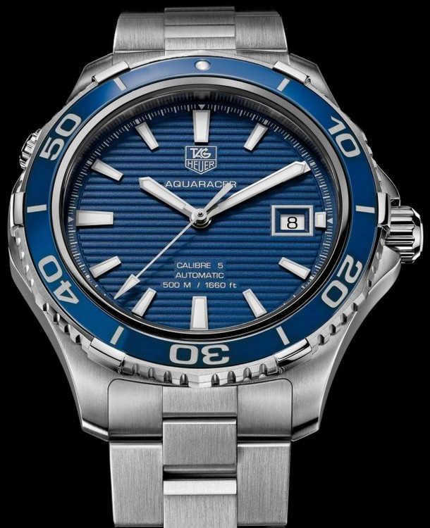 TAG Heuer Aquaracer 500m Blue Ceramic Watch 2012