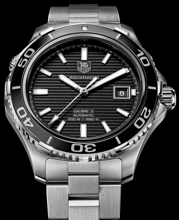 Tag Heuer Redesigned Its Number One Diving Watch 2012