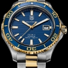 TAG Heuer Aquaracer 500m Gold Steel Watch 2012