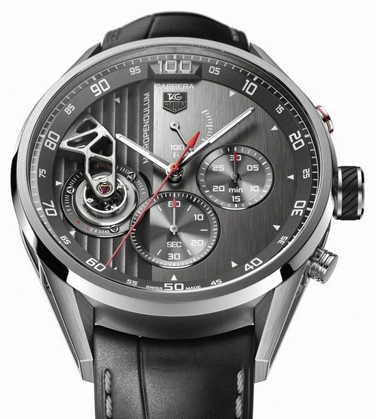 Tag Heuer Carrera MikroPendulum Chronograph Watch Dial