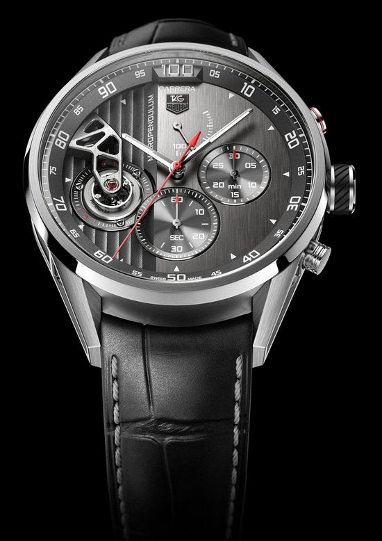 Tag Heuer Carrera MikroPendulum Chronograph Watch