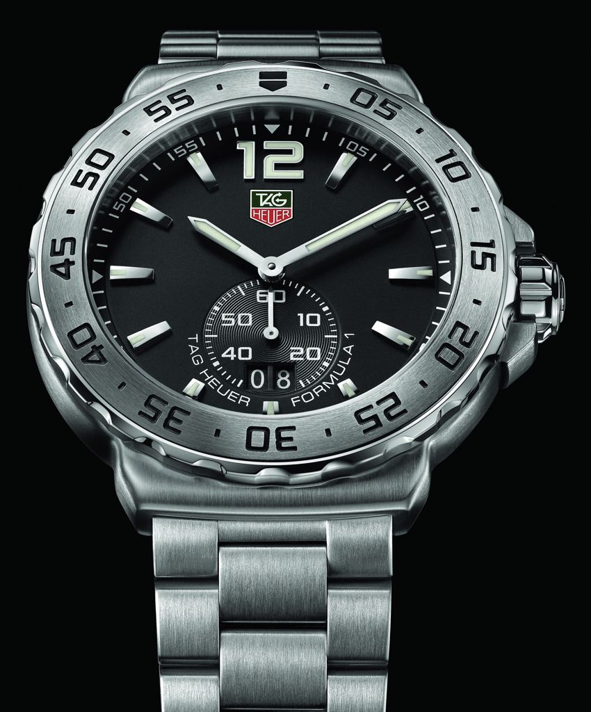 tag heuer s 2012 formula 1 watches new design took the. Black Bedroom Furniture Sets. Home Design Ideas