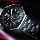 Tag Heuer Formula 1 Grand Date Watch Black WAU1114