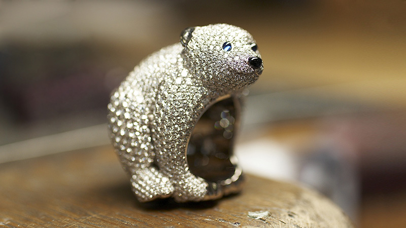 Chopard Animal World Collection at Harrods Ring