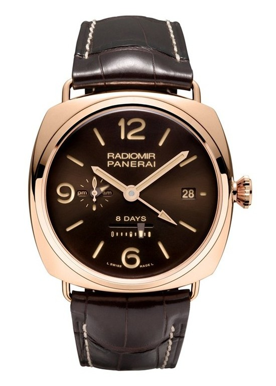 Panerai Radiomir 8 days GMT Oro Rosso 45 mm Watch