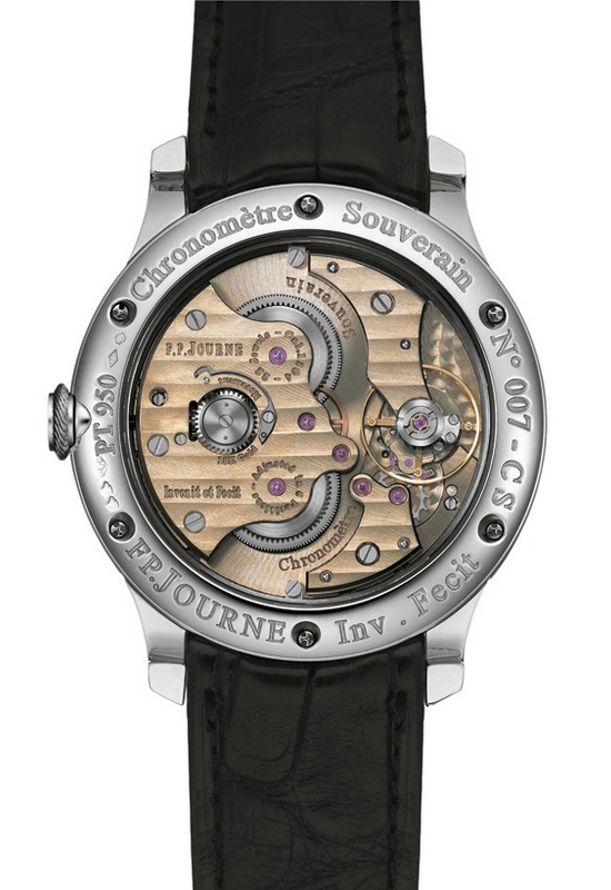 Chronomètre Souverain F.P.Journe Watch Caseback