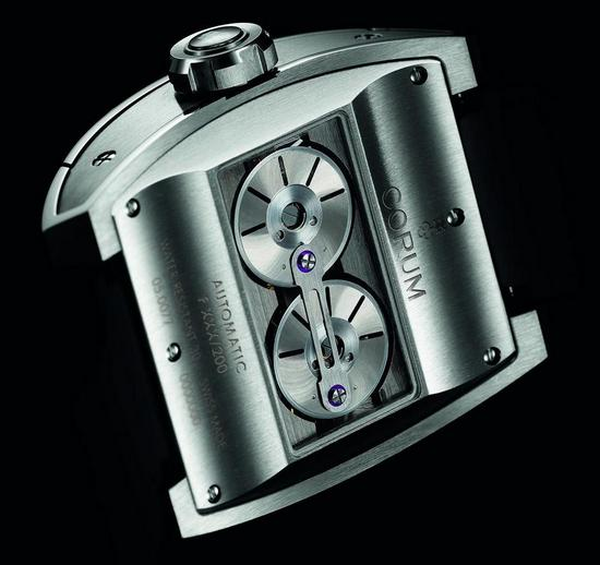 Corum Ti-Bridge Dual Winder Watch Caseback