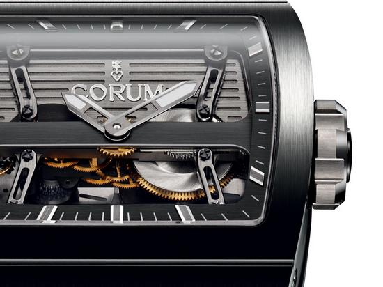 Corum Ti-Bridge Dual Winder Watch Dial