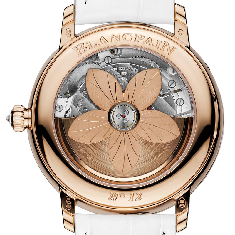 Blancpain Women Off-Centered Hour Watch Back