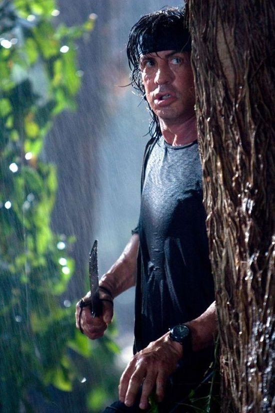 Rambo 4 - Sylvester Stallone - Panerai Luminor Marina Watch