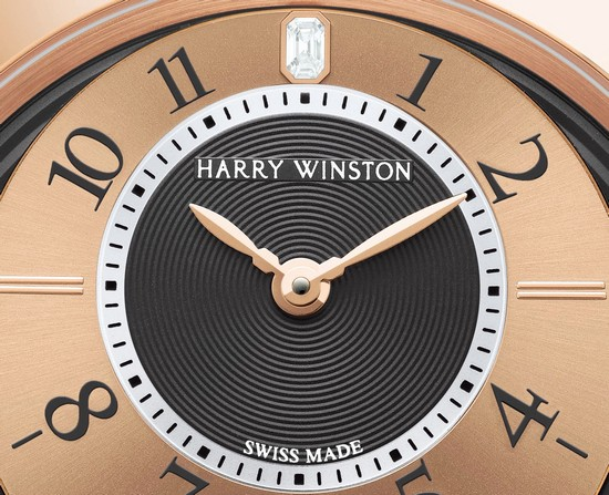 Harry Winston Midnight Big Date 2013 Only Watch Dial
