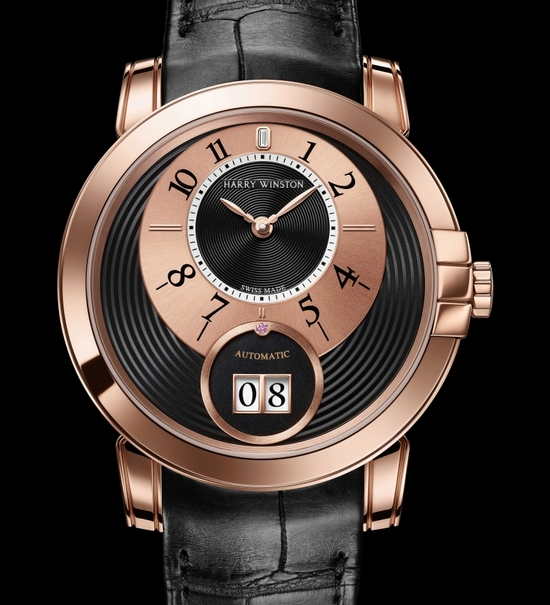 Harry Winston Midnight Big Date 2013 Only Watch Front