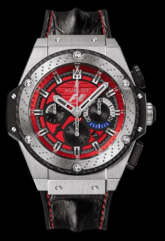 Hublot F1 King Power Austin Watch Front