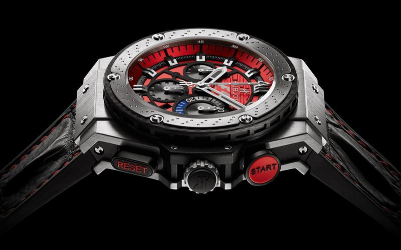 Hublot F1 King Power Austin Watch Side