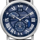 Rotonde De Cartier Second Time Zone Day/Night Watch Dial