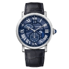 Rotonde De Cartier Second Time Zone Day/Night Watch Front