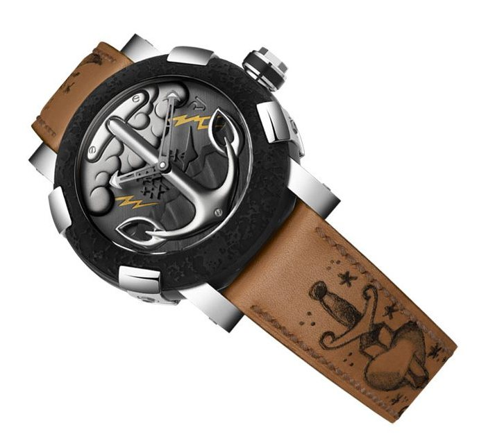 Romain Jerome Tattoo DNA Watch