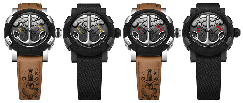 Romain Jerome Tattoo DNA Watches