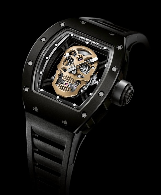 Richard Mille RM 52-01 Skull Tourbillon Watch