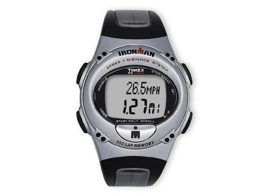 Timex Ironman 100 Lap GPS Speed Distance 5E701 Watch