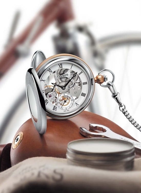 Tissot Bridgeport Mechanical Skeleton Watch