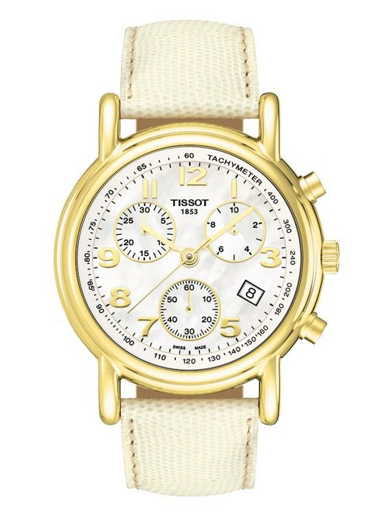 Tissot Carson Ladies Chronograph Watch T71.3.442.72