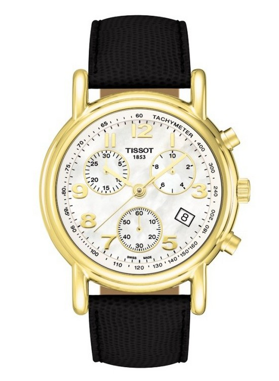 Tissot Carson Ladies Chronograph Watch T71.3.472.72