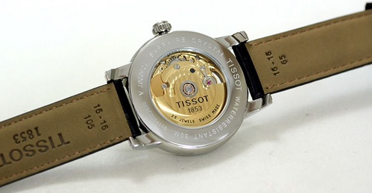 Tissot Lady Heart Watch T050.207.16.057.00 Caseback