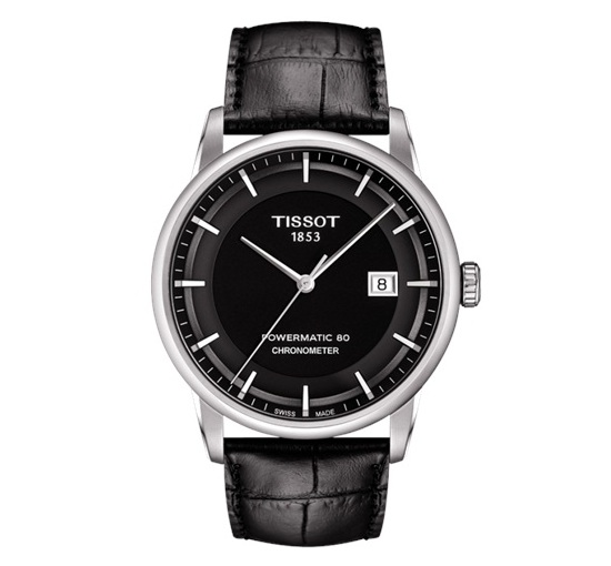 Tissot Luxury Automatic Watch Black