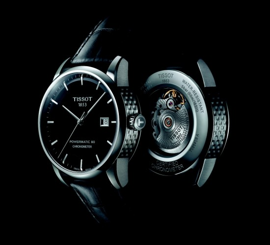 Tissot Luxury Automatic Watch Caseback
