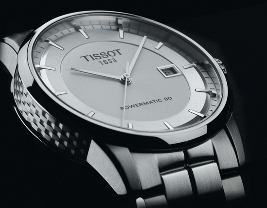 Tissot Luxury Automatic Watch Silver