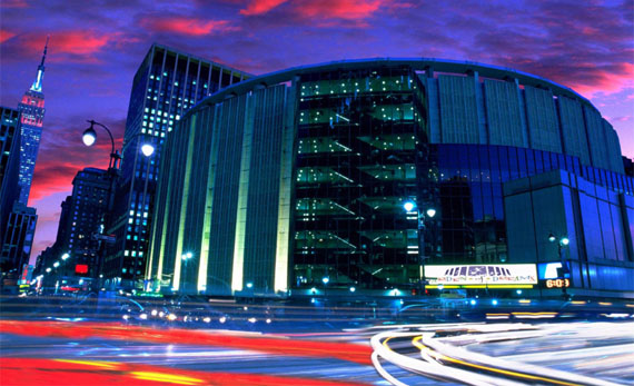 Madison Square Garden Night