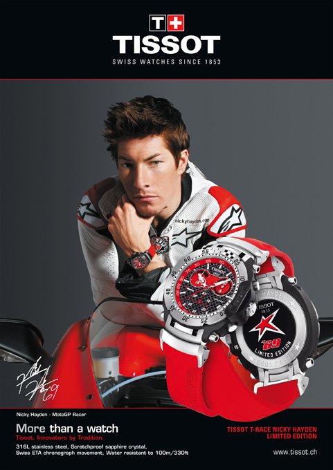 Tissot T-Race Nicky Hayden 2010 Limited Edition Watch | Watch Review
