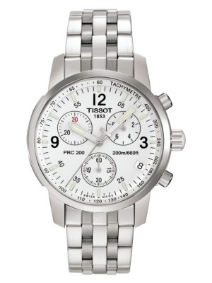 Tissot PRC 200 Quartz Chronograph Watch