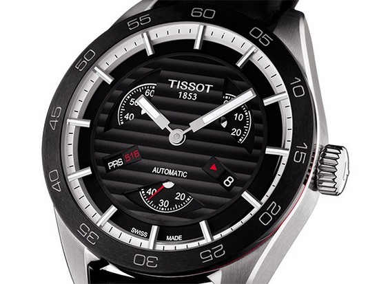 Tissot PRS 516 Automatic Small Second Watch Detail